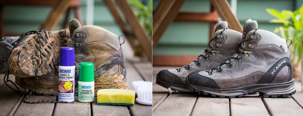 hiking footwear