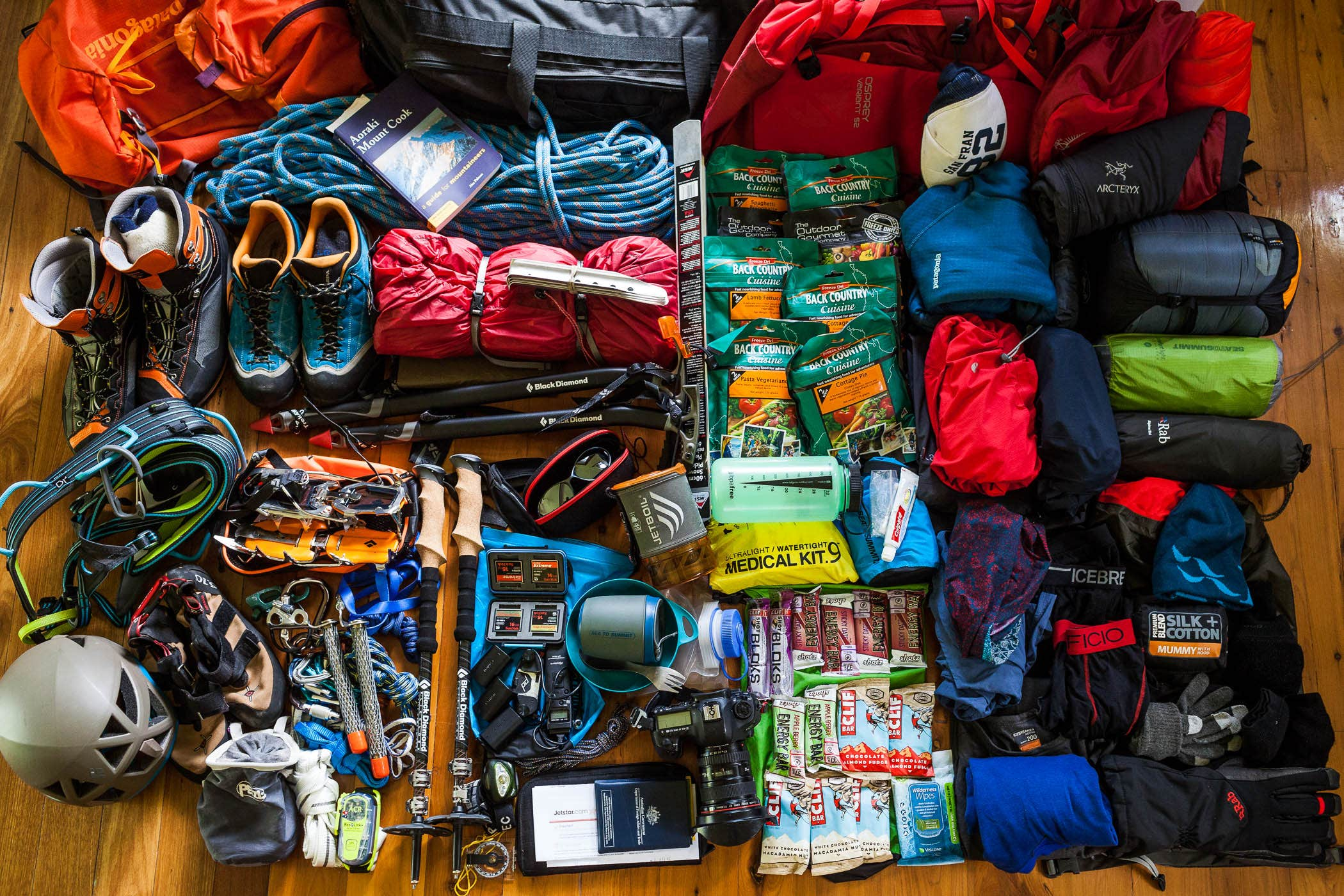 » Technical Mountaineering Course – Preparation & Gear