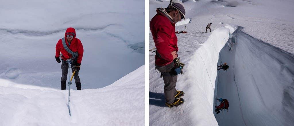 crevasse rescue dyp