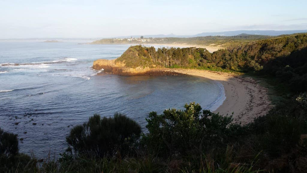 NSW Rogaine Headland view