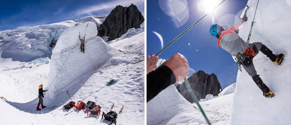 ice climbing dyp