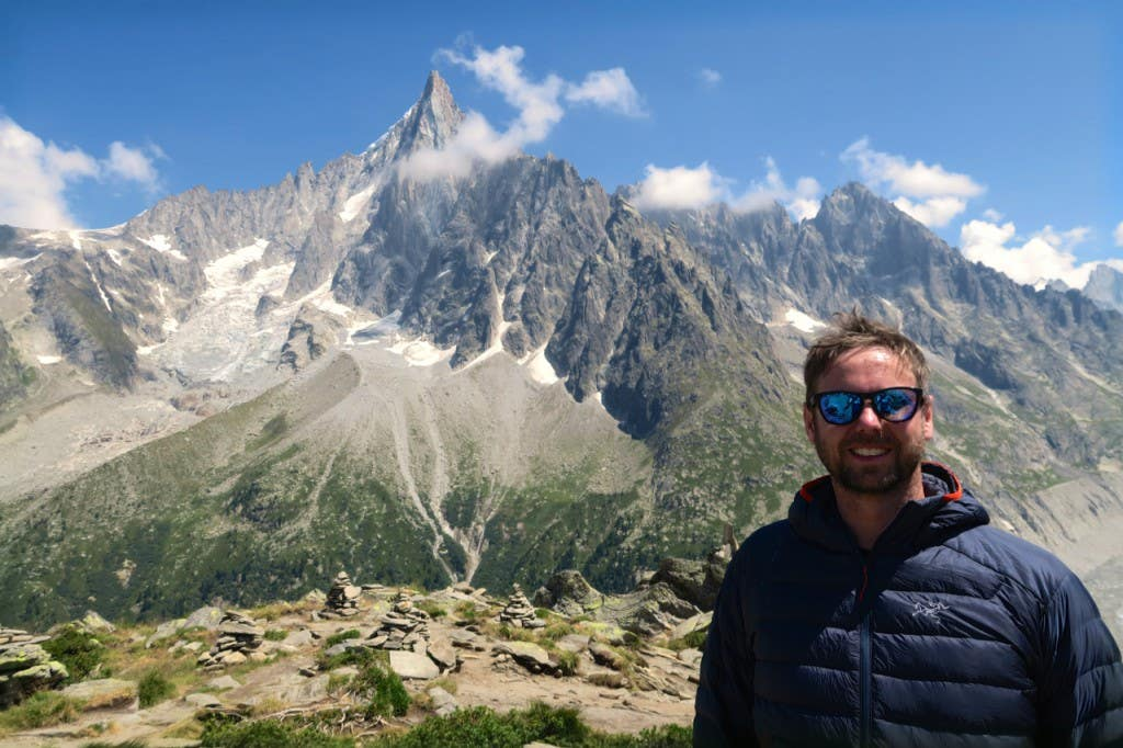 random mountain in Alps