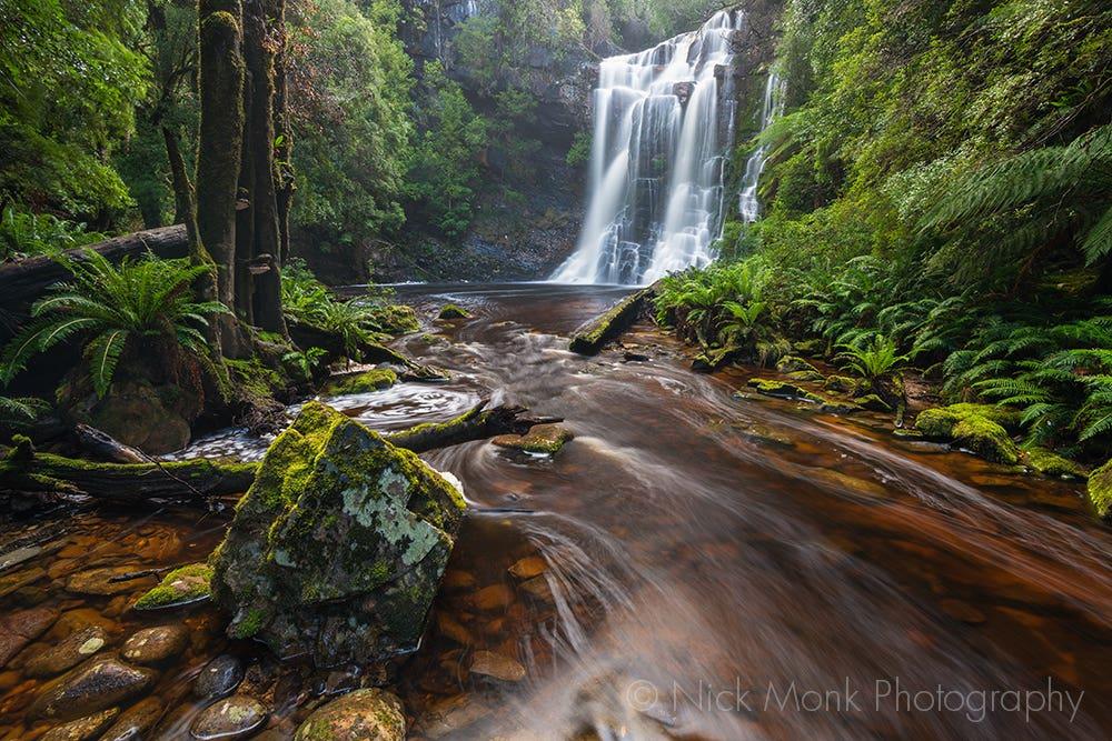 Dodds Creek Wes Beckett Falls: Nick Monk