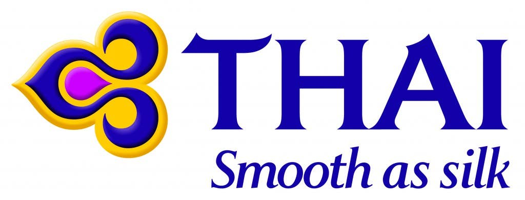 THAI logo Smooth as silk purple high res