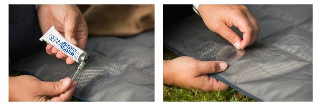 Patching-mattress