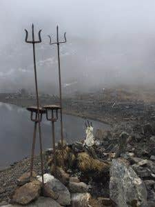 Hindu Holy Lake