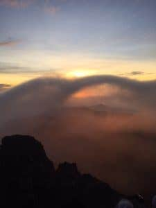 Sunrise Mt Agung