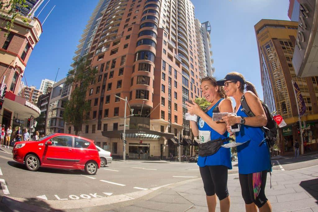 Maximum Adventure's Paddy Pallin Urban Adventure Race through the streets of Sydney