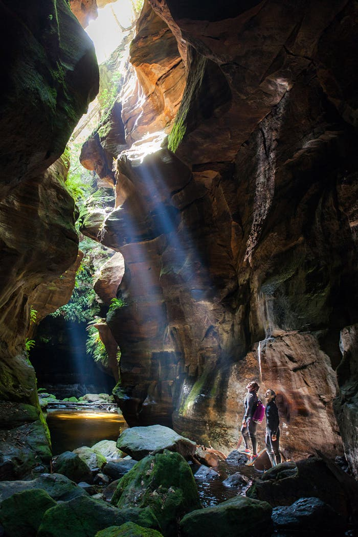 Paddy Pallin Wild Rivers Photo Contest Winner - People In Nature and Grand Prize Winner Canyoning in NSW