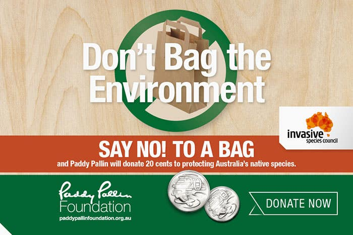 Paddy Pallin Don't Bag The Environment Camapaign