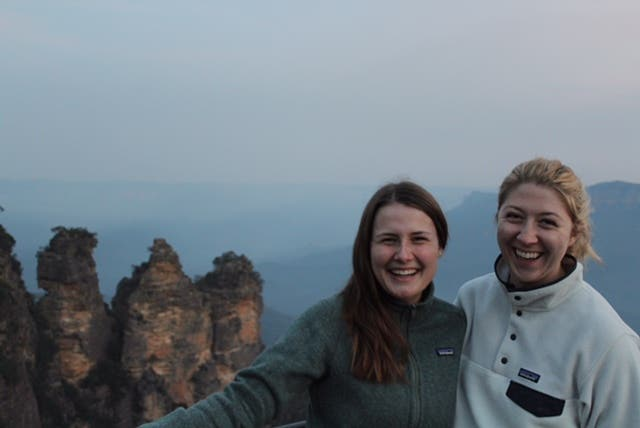 Rugged up in Patagonia for Winter in the Blue Mountains
