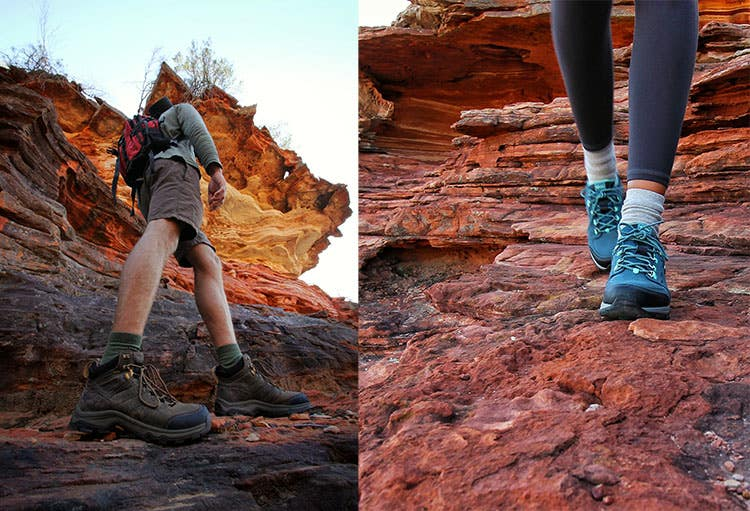 New hiking footwear from Teva: Teva Arrowood Riva Mid Waterproof Men's Shoe and the Teva Ahnu Montara III eVent Shoe from Paddy Pallin.