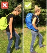 Fit your hiking pack - injury prevention