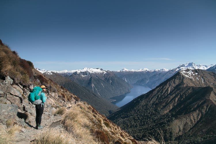 Kepler Track vires and landscapes