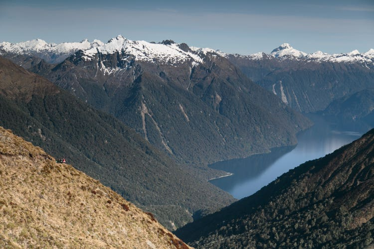 Mountain adventure in Fiordland
