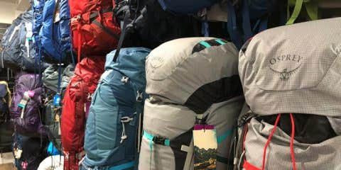 Osprey Hiking Pack range at Paddy Pallin
