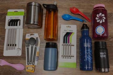 Sustainable alternatives for single use items