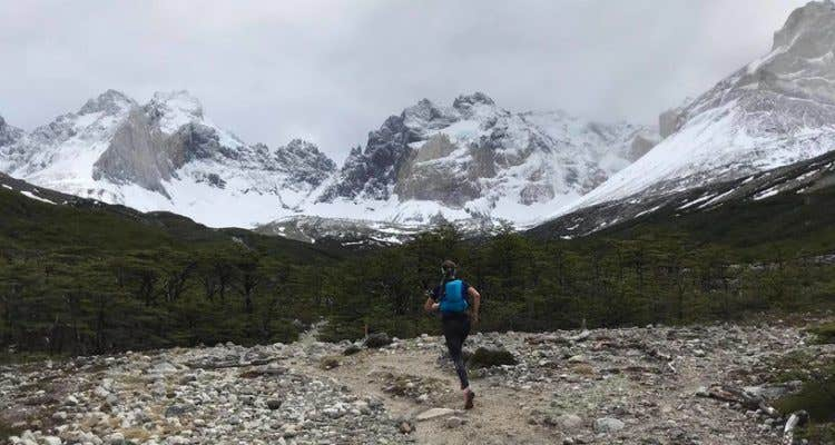 Simone brick trail running