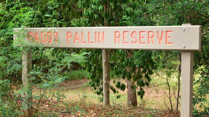 Paddy Pallin reserve