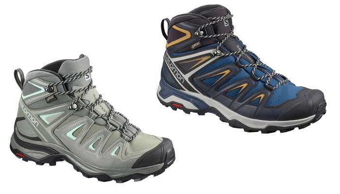 Salomon X-Ultra 3 Mid Boot - Perfect ankle support for day hiking for men and women