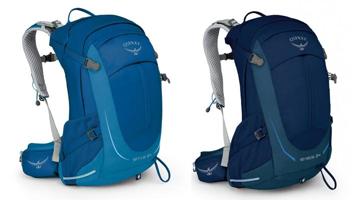 Osprey Stratos 24 and Sirrus 24 Daypack