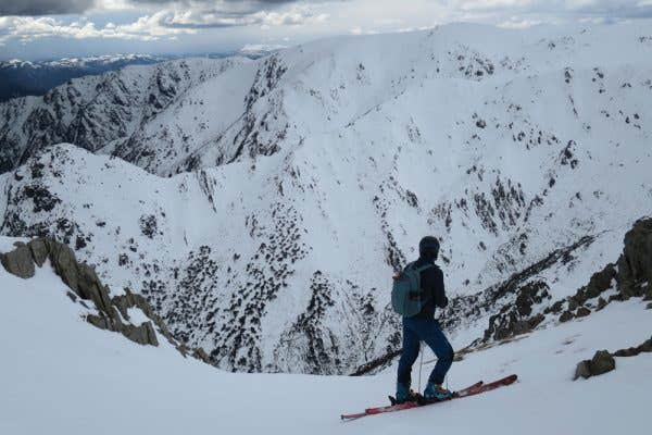 The rocky and large mountains of Australia's Alpine Regions
