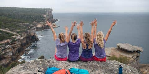 Wild Women On Top - North Head. 28 Day Fitness Challenge