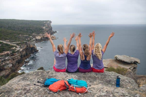 Wild Women On Top - North Head. 28 Day Fitness Challenge