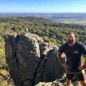 Get Outside Melbourne's founder on the trail