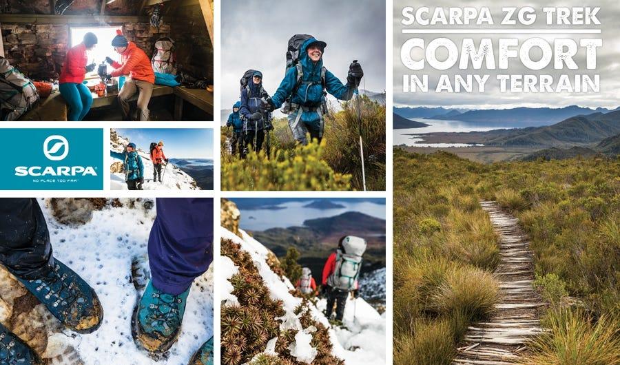Shop Scarpa ZG Trek Men's and Women's Boots