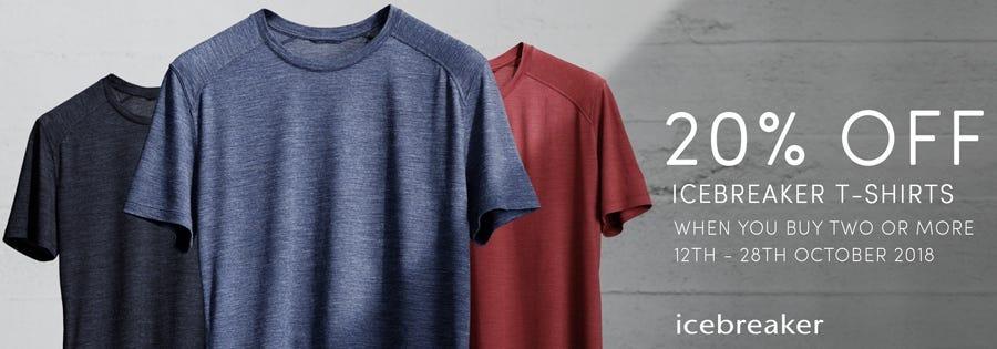 Icebreaker T-Shirt Sale Men's
