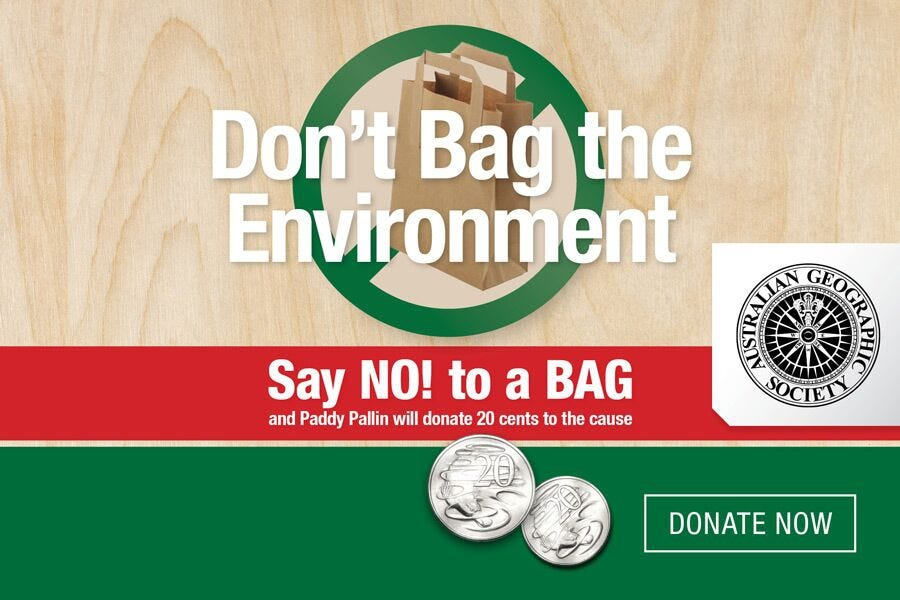 Don't Bag the Environment