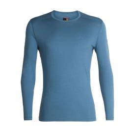 Icebreaker 200 Oasis LS Crewe Men's - Granite blue