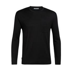 Icebreaker Ravyn LS Pocket Crewe Men's - Black