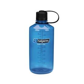 Nalgene Tritan Narrow Mouth 1L Bottle - Blue/Black