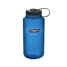 Nalgene Tritan Wide Mouth 1L Bottle - Blue/Black