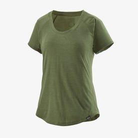 Patagonia Cap Cool Short Sleeve Trail Shirt Women's - Camp Green