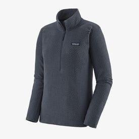 Patagonia R1 Air QZ Neck Pullover Women's - Smoulder Blue