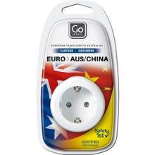 GO Travel European Visitor Adaptor