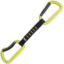Kong Express Trapper Nylon Quickdraw - Yellow / Black