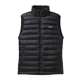 Patagonia Down Sweater Vest Men's - Black