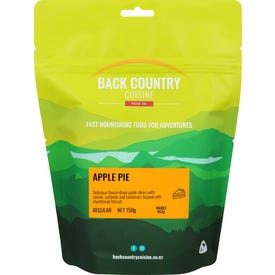 Back Country Cuisine Freeze Dried Food Desserts - Apple Pie