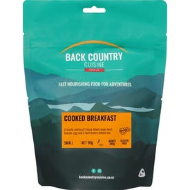 Back Country Cuisine Freeze Dried Food Breakfast - Cooked Breakfast