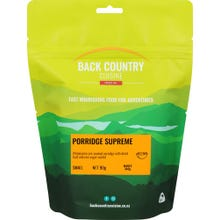 Back Country Cuisine Freeze Dried Food Breakfast - Porridge Supreme