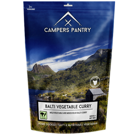 Campers Pantry Balti Vegetable Curry
