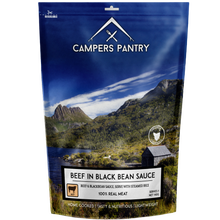 Campers Pantry Beef and Blackbean