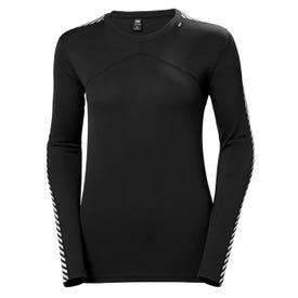 Helly Hansen Lifa Long Sleeve Crew Women's  - Black