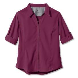 Royal Robbins Expedition 3/4 Sleeve Shirt Women's - Boysenberry