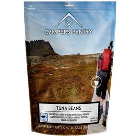 Campers Pantry Tuna Beans