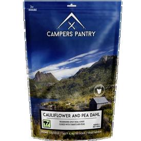 Campers Pantry Cauliflower & Pea Dahl - Single Serve